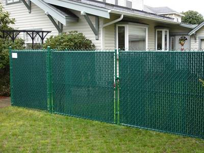 Double Wall Bottom Locking Privacy Slats For Chain Link Fence