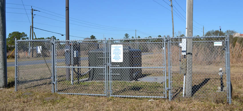 Electric Security Chain Link Fence For Suburb Amp Urban
