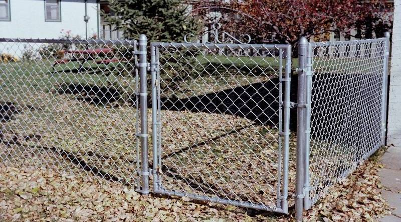 Chain Link Fence Gate Corner Aluminum And Steel