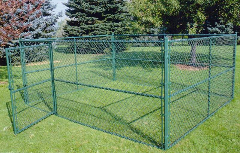 Chain Link Dog Kennel For Small To Large Sized Dogs